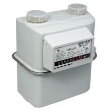 Счетчик газа BK G4Т диафрагменный бытовой (левый)